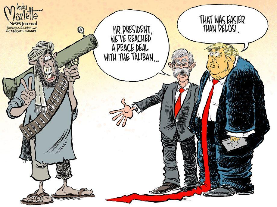 Political Cartoons January 2019